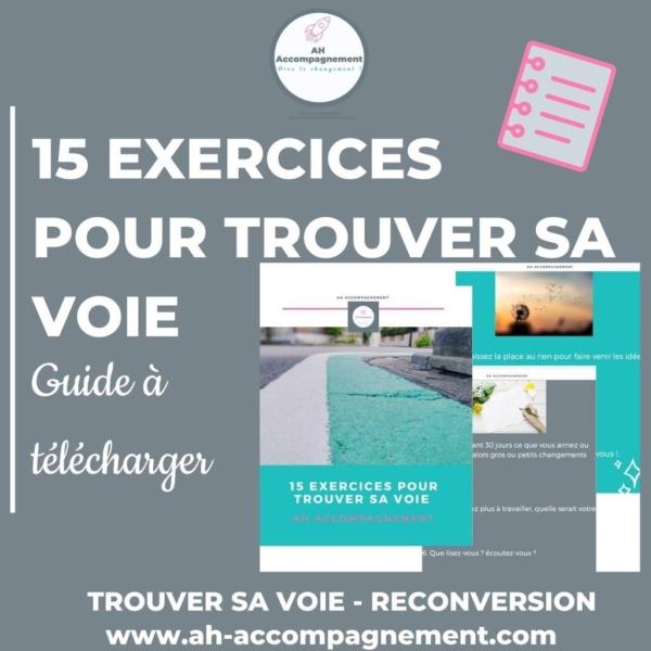15 EXERCICES POUR TROUVER SA VOIE