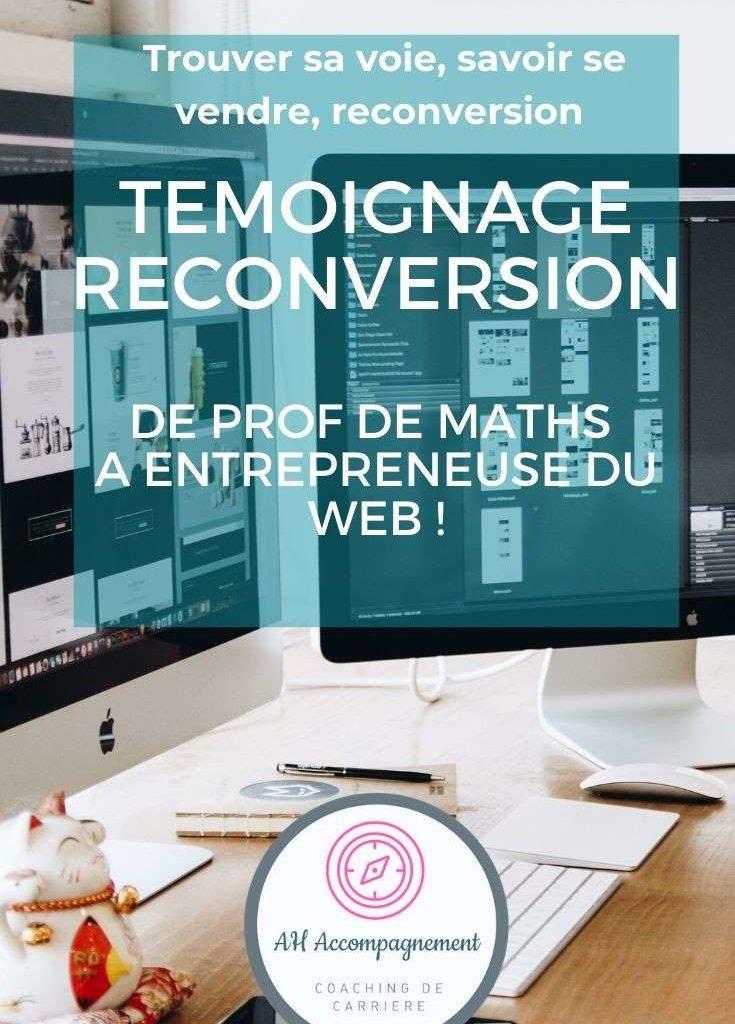 reconversion prof web