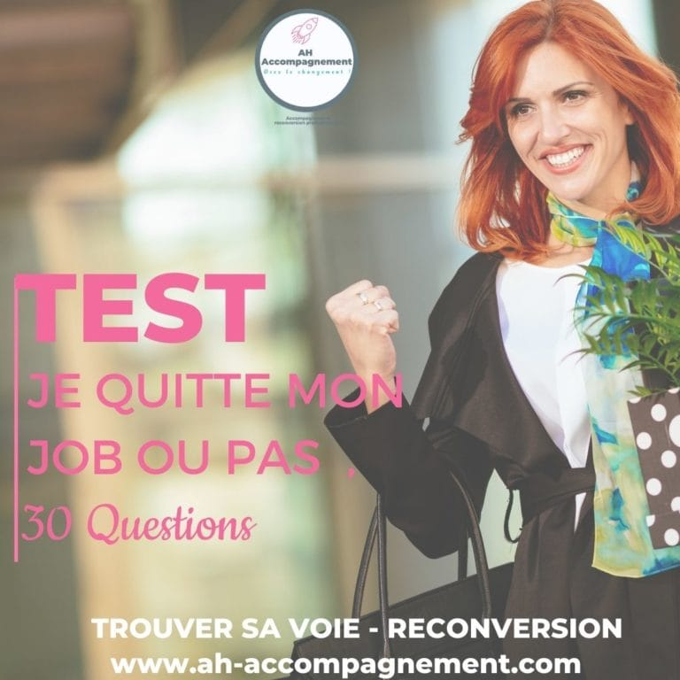 test demission ou pas