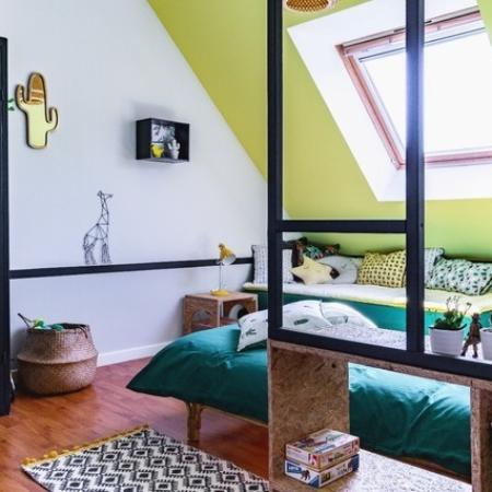 reconversion architecte intérieur chambre