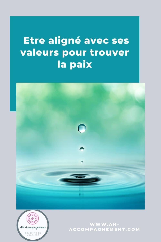 alignement valeurs