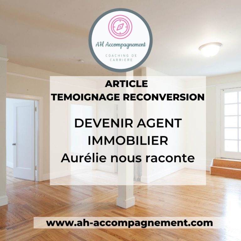 reconversion agent immobilier