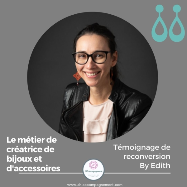 RECONVERSION COSMETIQUE A L ARTISANAT BY EDITH