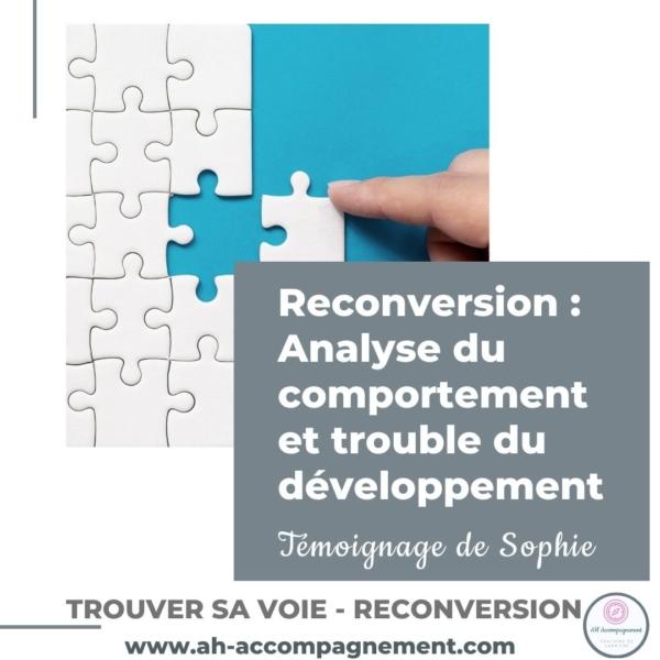 reconversion comportement autisme